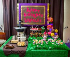 Willy Wonka and the Chocolate Factory Birthday Party Ideas | Photo 22 of 30 | Catch My Party