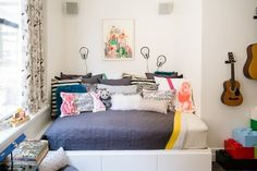 Luca & Bowie's Shared Brooklyn Bedroom & Playroom — Professional Project