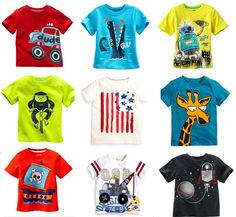 t shirts for Picture - More Detailed Picture about Brand Retail 2017 New  Arrival Hot Sale Summer T shirts t shirt for Baby boys Childrens Kids  Blouse ... dec2a98ba8