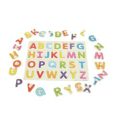 Wallmart.win Alphabet ABC Wooden Jigsaw Puzzle Toy Children Kids Learning Educational Gift: Vendor: BG-US-Toys-Hobbies-and-Robot Type:…