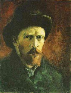 Auto retrato Van Gogh