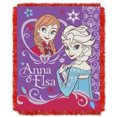 Use this Exclusive coupon code: PINFIVE to receive an additional 5% off the Disney's Frozen Sister Celebration Tapestry Throw at SportsFansPlus.com