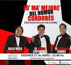 Así Somos: Show humorístico en Deán Funes para toda la famili...