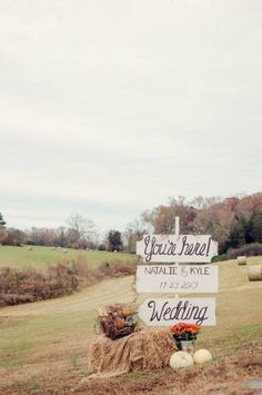 Family Farmhouse Wedding Retreat - Welcome your guests with a DIY wedding sign. Captured By: Alea Moore Photography —> Wedding Signage, Wedding Venues, Wedding Ideas, Trendy Wedding, Wedding Reception, Wedding Photos, Reception Signs, Wedding Suits, Wedding Themes