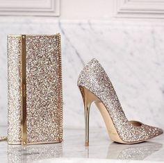 Wedding shoes idea; Featured: Jimmy Choo