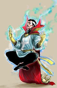 Doctor Strange by TaroInaba