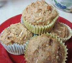 Karen's Vegan Kitchen: Apple Quinoa Spelt Muffins