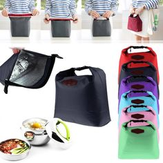Waterproof Thermal Cooler Insulated Lunch Box Portable Tote Storage Picnic Bag #UnbrandedGeneric
