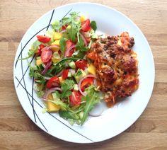 Sweet potato lasagne |Heimelaga, super søtpotetlasagne!