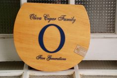 Oliva cigar box by The Salvaged Home on Etsy