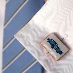 Blue Cadillac #cufflinks