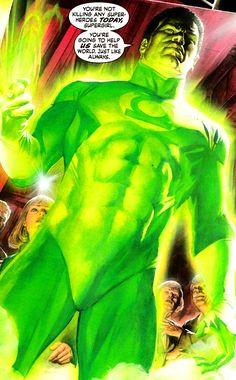 John Stewart John Stewart Green Lantern, Green Lantern Corps, Cosmic Comics, Dc Comics Art, Alex The Great, American Green, Batman Beyond, Dark Star, Alex Ross