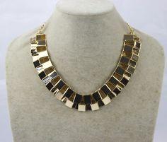 New Arrival Fashion European Vintage Geometric Alloy Choker Necklace for Women