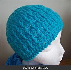 """""""232-Quick Hat and Scarf"""" Free crochet patterns-Hat only 12 rounds-Worsted weight yarn-6.00 mm hook-(FILED)"""