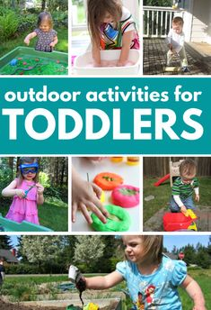 Get some fresh air and have fun with your toddler outside. These outdoor activities for toddlers will help parents have fun with their toddlers too.