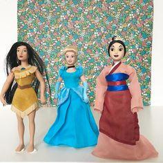 Orangevertevintage — Poupée De Porcelaine Princesses Disney Collection