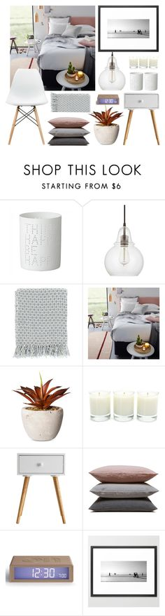 """Bedroom"" by by-jwp ❤ liked on Polyvore featuring interior, interiors, interior design, home, home decor, interior decorating, Capital Lighting, Surya, Threshold and Antica Farmacista"