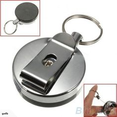 Purchase Retractable Metal Card Badge Holder Steel Recoil Ring Belt Clip Pull Key Chain from Aofa on OpenSky. Share and compare all Accessories. Hardware, Tool Belt, Pull Chain, Clips, Badge Holders, Brunei, Guam, Key Rings, Jewelry Sets