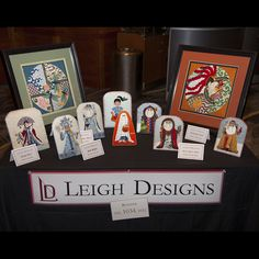 Leigh Designs at the Phoenix 2014 Needlepoint Showcase cocktail party