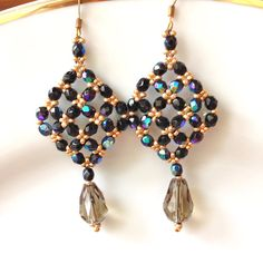 Hey, I found this really awesome Etsy listing at https://www.etsy.com/listing/254975805/handmade-beaded-earrings-drop-dangle