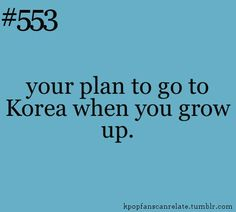 Saving up for next year!! #korea