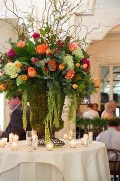 Wire Urn Floral Arrangement