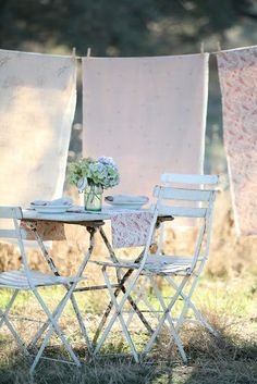Add a touch of French style elegance to the garden or balcony with Brissi's bistro table and chair sets. From only £125.