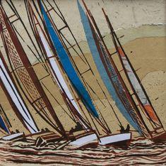 John Scott Martin UK Artist marine paintings - Linocuts