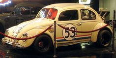 """1963 VW Beetle """"Herbie Fully Loaded at The Petersen Automotive Museum Los Angeles, CA My Dream Car, Dream Cars, Volkswagen, 1960s Cars, New Museum, Unique Cars, Kids Events, Vw Beetles, Car Ins"""