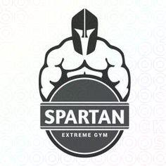 Spartan Gym logo - sold