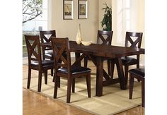Mango 5 Pc Dining Room Dining Room Sets Here we have great picture about rooms to go dining room chairs. We hope these photos can be your . Dining Room Table Chairs, Table And Chair Sets, Dining Room Sets, Side Chairs, Dining Area, Kitchen Tables, Rooms To Go Furniture, Home Furniture, Furniture Stores