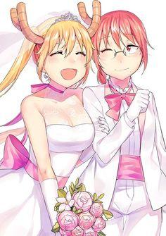 Tohru and Kobayashi