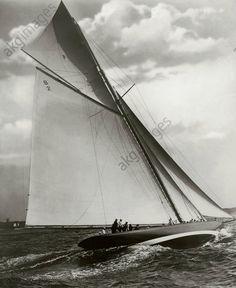 Germany, Kiel Week, yacht Shamrock / photo 1912 Sport / Germany, sailing. Kiel…