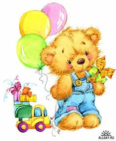 Illustration of teddy bear soft toys