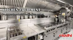 Do not Purchase Kitchen Equipments from Regular Supplier before Reading these Guides!