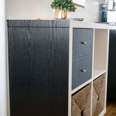 Create a new neutral look in your kitchen with our blackwood woodgrain sticky back plastic. Easy to apply and removable. Ideal for home renovation, rentals and do-ups Kitchen Doors, Diy Kitchen, Home Depot, Dc Fix, Sticky Back Plastic, Black Wood, Home Decor Accessories, Home Renovation, The Originals
