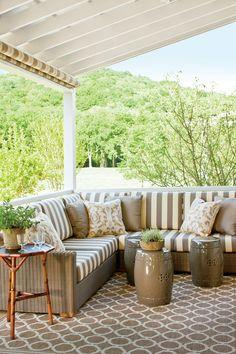 Nashville Homes Tour: The Guest House Porch