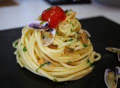 Denny Chef Blog: Spaghetti con telline all'arancia