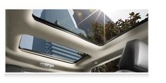 Panoramic Vista Roof® on the 2013 Ford Edge