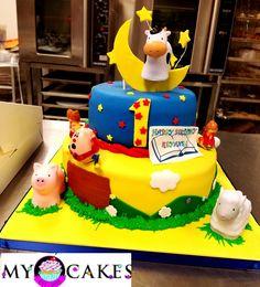 Nursery Rhyme birthday cake