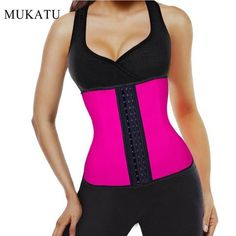 c2c8c463384 Latex Waist Trainer Plus Size Corset Slim Shaper 9 Steel Bone Corset Girdle Women  Waist Belt Modeling Strap Shapewear