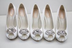 Who wants a pair of our gorgeous crystal trimmed #Jewel wedding heels? Coming next week! #PinkParadox