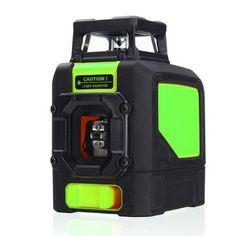 Mini 360° 5 Line Laser Self Leveling Vertical Horizontal Level Green Measurement