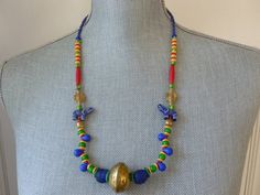 Elephant Charm Necklace Collar de Africa by Northernblooms on Etsy