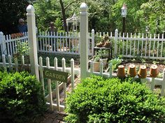 I would love my own separate kitchen garden like this!