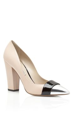 Nicholas Kirkwood Block Heel Pump on Moda Operandi #shopitrightnow