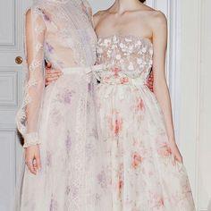 Vintage-inspired and delightfully feminine at @maisonvalentino.  #weddingdress #bridalgown #oncewedstyle