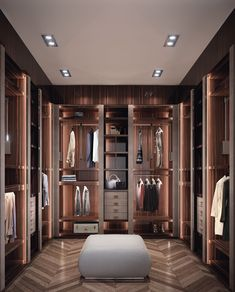 49 Luxury Wardrobe Trending This Year - Futuristic Interior Designs Technology Walk In Closet Design, Bedroom Closet Design, Master Bedroom Closet, Closet Designs, Bedroom Decor, Wardrobe Designs For Bedroom, Dressing Room Closet, Dressing Room Design, Walking Closet