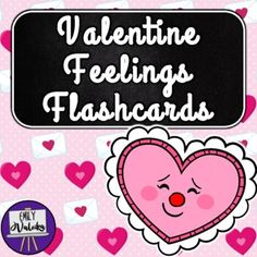 Happy Valentine's Day, teachers! Please enjoy this seasonal set of feelings flashcards, with a cute Valentine theme! Perfect for practicing basic emotions vocabulary during Valentine's Day units, these cards are also a great help in daily rapport building by talking about how students are feeling. M...