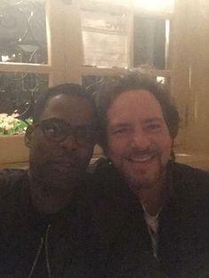 Chris Rock and Eddie Vedder